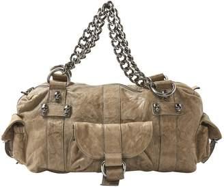 Thomas Wylde Beige Leather Handbag