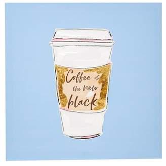 Boston Warehouse Coffee Is The New Black Canvas Art
