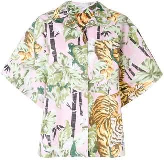 Kenzo shortsleeved collared shirt