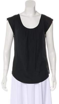 Loeffler Randall Silk Cap Sleeve Top