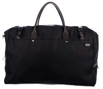 Jack Spade Leather-Trimmed Woven Duffle