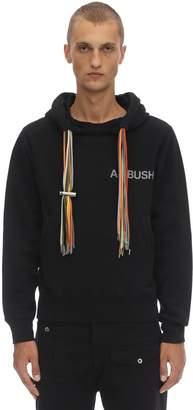 Ambush Printed Cotton Jersey Multi Cord Hoodie