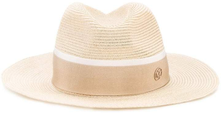 Henrietta timeless hat - Nude & Neutrals Maison Michel Free Shipping Affordable Cheap Sale Brand New Unisex YYjT5Dg
