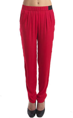 IRO Ilva Relaxed Pant in Red