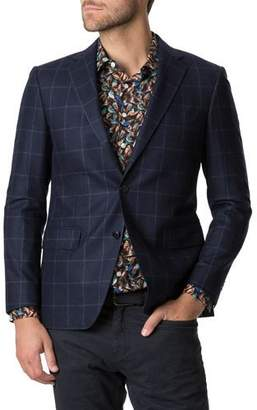 Rodd & Gunn Men's Rewcastle Check Two-Button Jacket