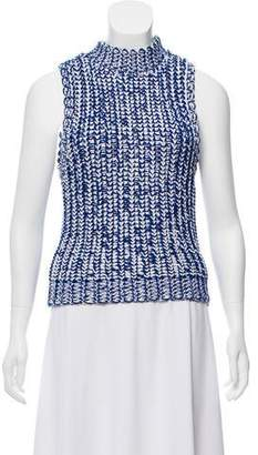 Alice + Olivia Sleeveless Knit Sweater