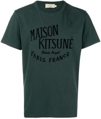 MAISON KITSUNÉ logo patch T-shirt