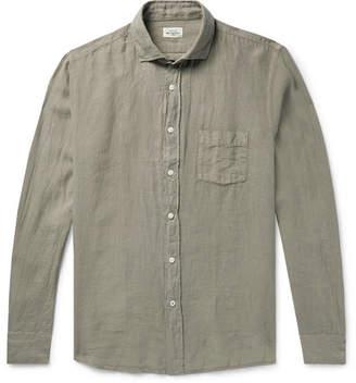 Hartford Paul Pat Slim-Fit Linen Shirt