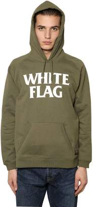 Carhartt Hooded White Flag Printed Sweatshirt