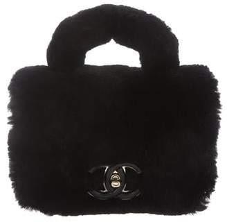 Chanel 2017 Small Fur Flap Bag