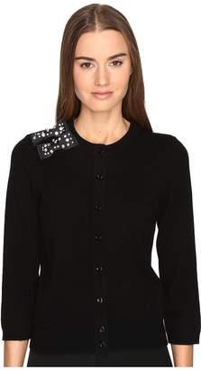 Kate Spade Embellished Bow Cardigan Women's Sweater