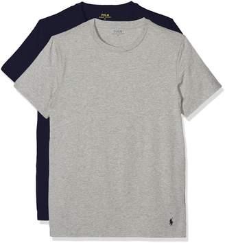 Ralph Lauren Polo Pack 2 T-Shirts-Top Short Sleeve for Men Blue/Gray - 2XL