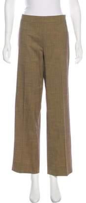 Etro Mid-Rise Wool Pants
