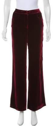 Jenni Kayne Mid-Rise Velvet Pants