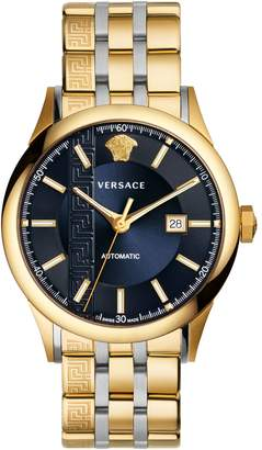 Versace Aiakos Automatic Bracelet Watch, 44mm