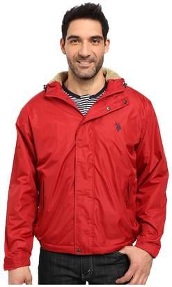 U.S. Polo Assn. Hooded Windbreaker Men's Coat