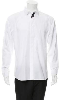 Christian Dior Woven Button-Up Shirt w/ Tags