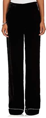 Barneys New York Women's Velvet Wide-Leg Pants