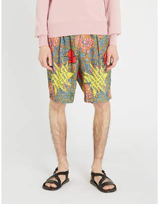 Vivienne Westwood Printed crepe shorts
