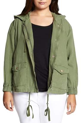Sanctuary Nova Hooded Jacket (Plus Size)