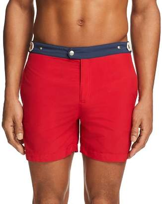 Solid & Striped Kennedy Color-Blocked Swim Trunks