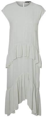 Vero Moda Pastel Ruffled Dress