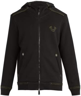 True Religion QT2 cotton hooded sweatshirt