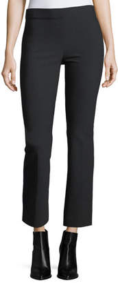 Vince Flared Crop Ponte Legging Pants $285 thestylecure.com