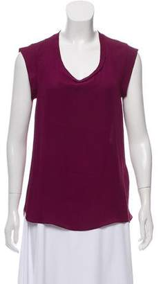 3.1 Phillip Lim Silk Draped Top