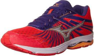 Mizuno Canada Women's Wave Sayonara 4 Running Shoes, Diva Pink/Liberty/Orange Pop