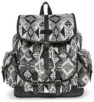 Women's Diamond Print Backpack Handbag Black - Mossimo Supply Co.; $29.99 thestylecure.com