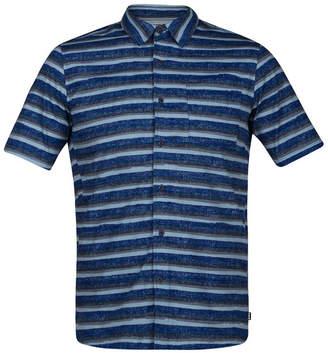 Hurley Men Board Room Striped Shirt