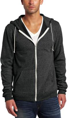 Threads 4 Thought Men's Triblend Zip Front Hoodie