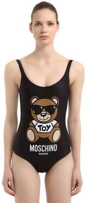 Moschino Beachwear Teddy Bear One Piece Swimsuit