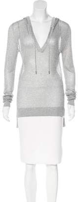 MICHAEL Michael Kors Semi-Sheer Knit Sweatshirt