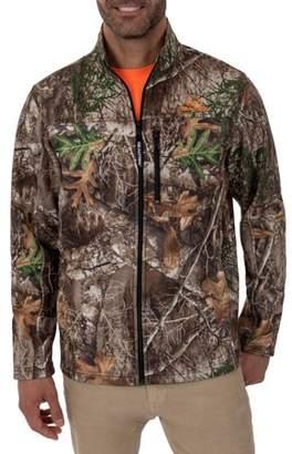 Realtree Mossy Oak and Men's Long Sleeve Bonded Full Zip Jacket