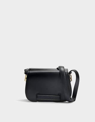 Carven Crossbody Bag in Black Calfskin