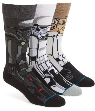 Men's Stance Star Wars(TM) Rogue One 3-Pack Socks $60 thestylecure.com