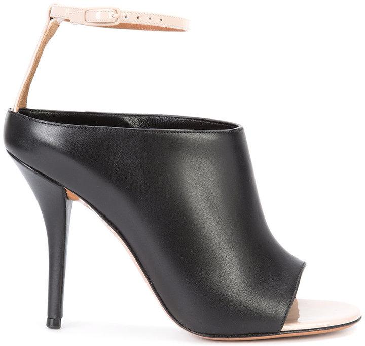 GivenchyGivenchy ankle strap mules