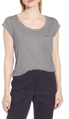 Nordstrom Signature Stripe Pocket Tee