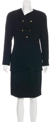 Chanel Bouclé Wool Skirt Suit