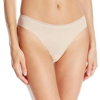 OnGossamer Women's Beautifully Basic Clean Cut Thong Panty