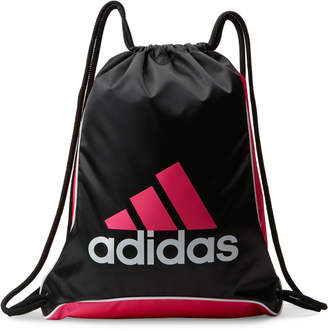 adidas Black & Pink Bolt II Sackpack