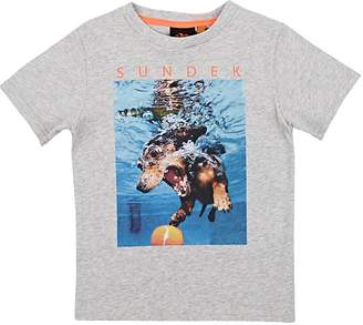Sundek Kids' Dog-Print Cotton Jersey T-Shirt