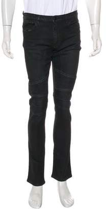 Belstaff Five-Pocket Skinny Moto Jeans w/ Tags