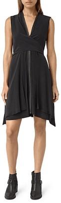 ALLSAINTS Jayda Silk Dress $360 thestylecure.com