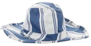 Stetson Striped Canvas Hat