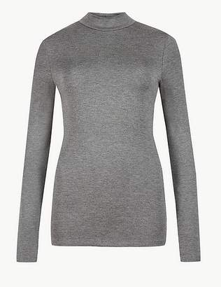 "Marks and Spencer Heatgen Plusâ""¢ Thermal Long Sleeve Turtle Neck Top"