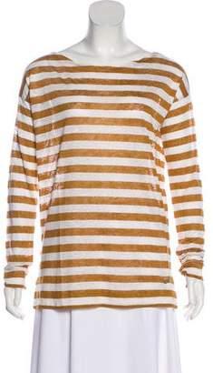 Loro Piana Striped Long Sleeve Top