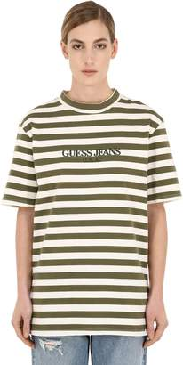 GUESS U.s.a.x Infinite Archives Ia Ss Usa Crew T-Shirt